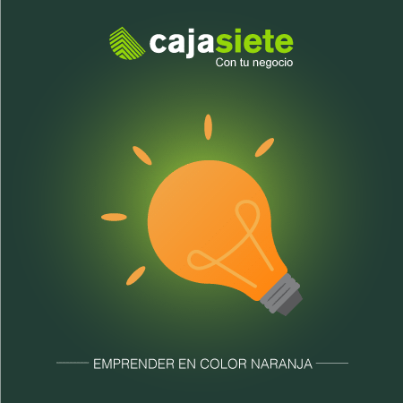 Emprender en color naranja