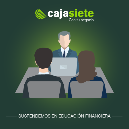 Suspendemos en educación financiera