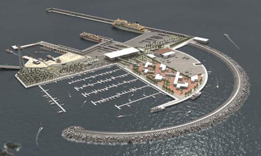 El nuevo puerto de Fonsalia el fin de las colas para Los Cristianos