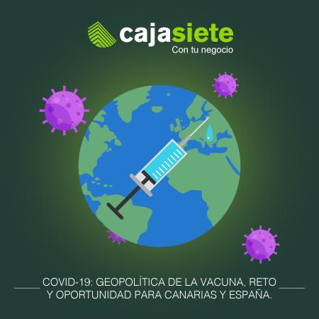COVID-19: Geopolítica de la vacuna, reto  y oportunidad para Canarias y España