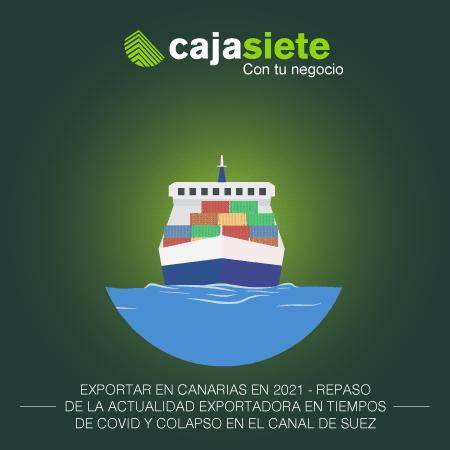 Exportar en Canarias en 2021
