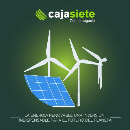 La energía renovable, una inversión indispensable para el futuro del planeta