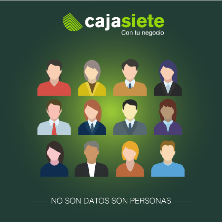 No son datos son personas