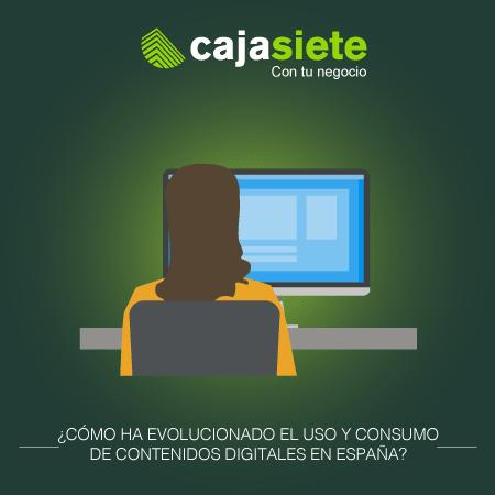 ¿Cómo ha evolucionado el uso y consumo de contenidos digitales en  España?