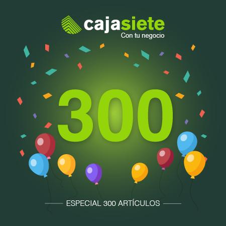 300 artículos en Cajasiete con tu negocio