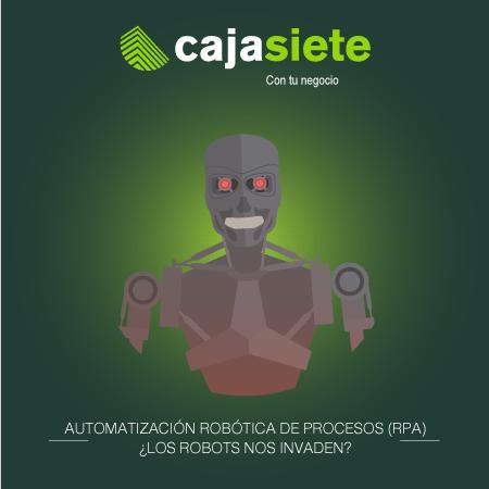 Automatización Robótica de Procesos (RPA) ¿Los robots nos invaden?