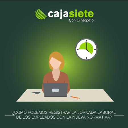 ¿Cómo podemos registrar la jornada laboral de los empleados con la nueva normativa?
