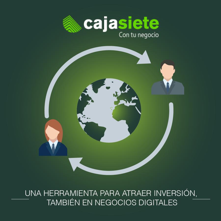Una herramienta para atraer inversión, también en negocios digitales